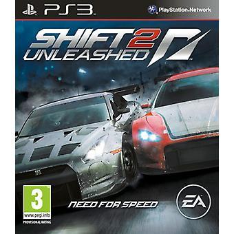 Nopeusvaihdin 2 Unleashed (PS3) tarve - Uusi
