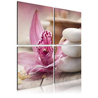Canvas Print - Orchid and zen