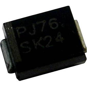 صمام ثنائي زينر بانجيت 1SMB3EZ4.7 الضميمة نوع (أشباه الموصلات) هل 214AA الجهد زينر 4.7 V P(TOT) الطاقة (كحد أقصى) 3 ث