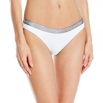 Calvin Klein Women Radiant Bikini Brief, White, S