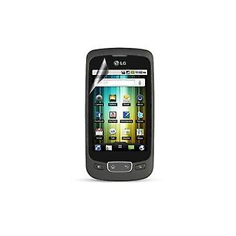 Sprint Screen Protector for LG Optimus S LS670