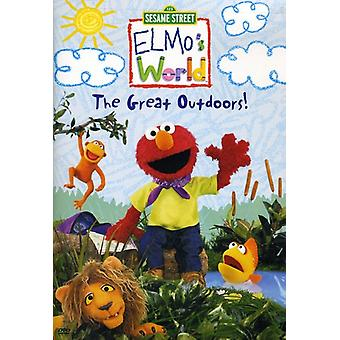 Sesame Street - Elmos World-Great Outdoors [DVD] USA import
