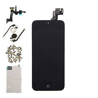 Stuff Certified® For iPhone 5C Mounted Display (LCD + Touch Screen + Parts) A + Quality - Black