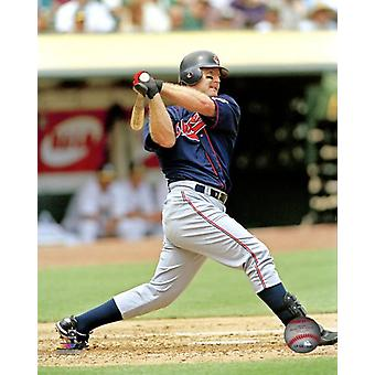 Jim Thome Action Photo Print