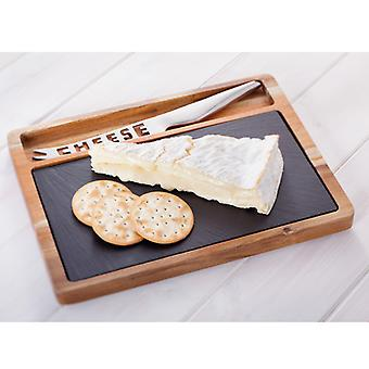 Judge Slate, 28 X 21cm Cheese Board Set