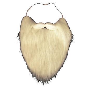 Barba de Santa com máscara elástica de Santa chama-retardada