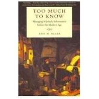 الكثير معرفة-إدارة المعلومات العلمية قبل Ag الحديثة