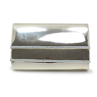 Lunar Romily metalen Clutch tas