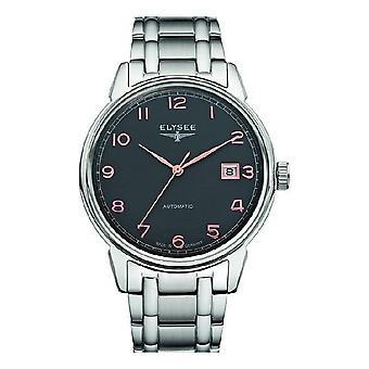 Elysee heren horloge van klassieke vintage master automatische 80546 S