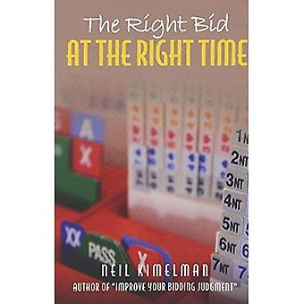 The Right Bid at the Right Time