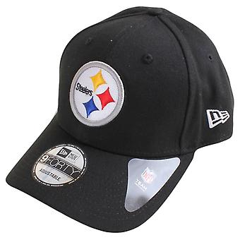 Ny æra 9FORTY NFL Pittsburgh Steelers - sort