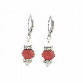 تحت 10 دولار والمجوهرات سيام لايت الماس بلورات حمراء ث/سباسير