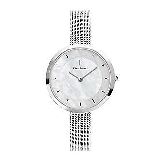השעון האנלוגי של הנשים פייר לננייר עם רצועת נירוסטה 074K698
