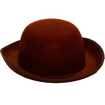 Steampunk stijl bruin hoed