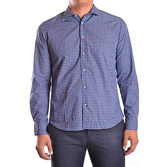 Altea Ezbc048009 Men's Blue Cotton Shirt