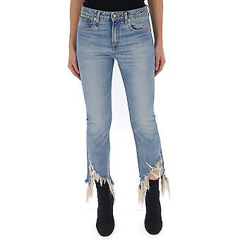 R13 R13w0019561 Women's Light Blue Denim Jeans