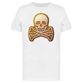 Gingerbread Skull Tee Men's -Image by Shutterstock