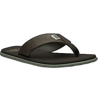 Tongs de Mens Helly Hansen Seasand cuir sandale 11495-713