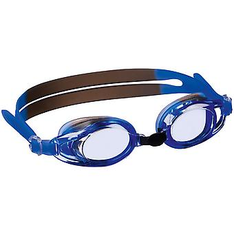 Beco Barcelona Adult Swimming Goggles - Blue/Grey