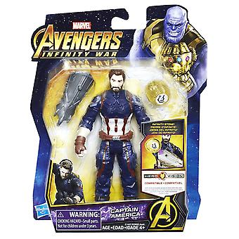 Avengers Infinity War, Captain America with Eternity Stone