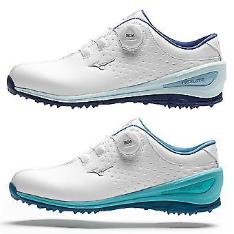 Mizuno Womens Nexlite 006 Boa Golf vattentät läder golfskor