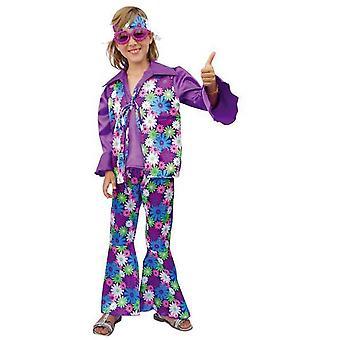 Children's costumes  Hippie Costume for Kids Purple