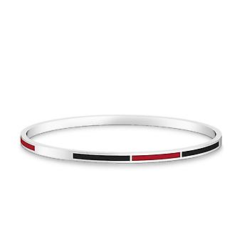 San Diego State University Bracelet In Sterling Silver Design by BIXLER