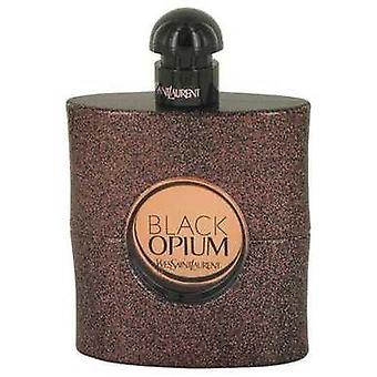 Black Opium By Yves Saint Laurent Eau De Toilette Spray (tester) 3 Oz (women) V728-536812