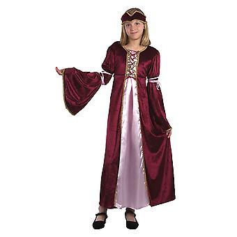 Bristol Novelty Childrens/Girls Renaissance Princess Costume