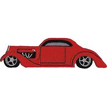 Patch - Automoblies - Red Hot Rod Iron On Gifts New Licensed p-3780