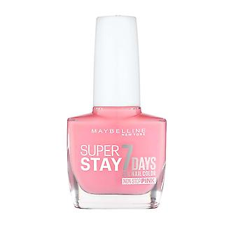 Maybelline Super Stay 7 dagar Gel Nail Colour non stop Pink 10ml Rose Rapture #140