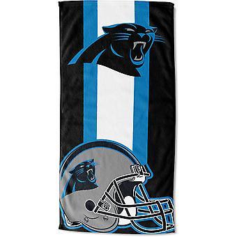 Northwest NFL beach towel ZONE Carolina Panthers 76x152cm