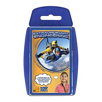 Top Trumps STEM Extraordinary Engineering Card Jeu