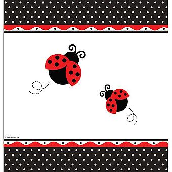 Ladybug Party tablecloth 137x274 cm Beetle Party Children's Wedder's Day