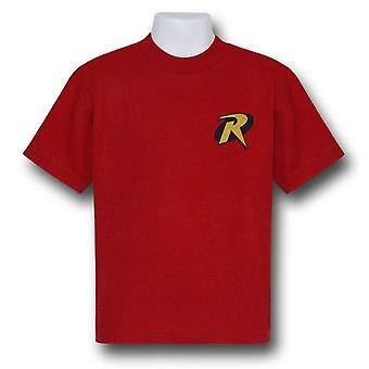 T-Shirt de symbole de robin d'enfants