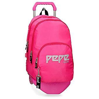 Pepe Jeans Uma Mochila - 44 cm - 20.46 litros - Rosa 63924N2