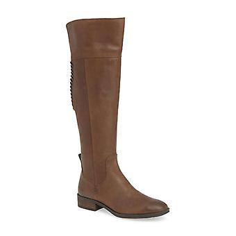 فينس كاموتو المرأة Patamina النسيج مغلقة تو الركبة أحذية الأزياء الراقية