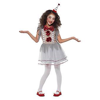 Le ragazze dell'annata Clown Fancy Dress Costume