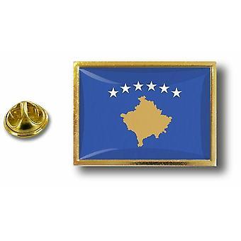 Pine PineS badge PIN-apos; s metaal met vlinder snuifje vlag Kosovo Kosovar