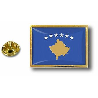 Kiefer Pines Abzeichen Pin-Apos;s Metall mit Schmetterling Pinch Flagge Kosovo Kosovar