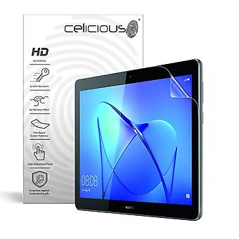 Celicious Vivid Invisible Glossy HD Screen Protector Film Compatible with Huawei MediaPad T3 10 [Pack of 2]