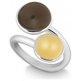 QUINN - Ring - Damen - Silber 925 - Weite 56 - 021057632