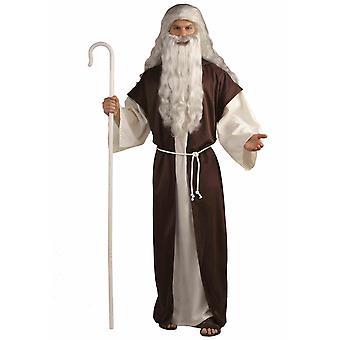 Herder Mozes Joseph Noah de drie wijs Man Christmas bijbelse mannen kostuum