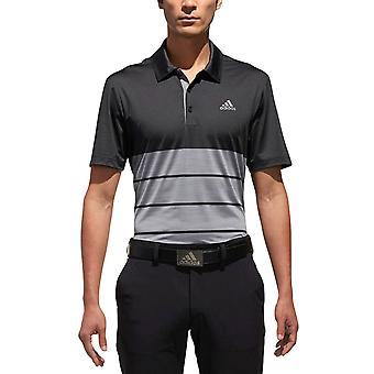 Adidas Golf mens Ultimate365 Heather Polo shirt