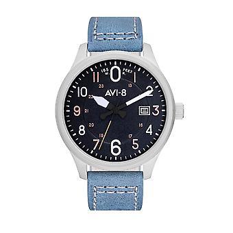 AVI-8 AV-4053-0F Hawker Hurricane Blue Strap Wristwatch