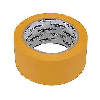 Weather Resistant Builders Tape - 50mmx33m Yellow