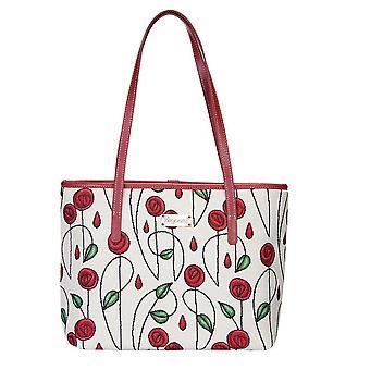 Mackintosh-Simple Rose Shoulder Tote Bag door signare tapijt/Coll-rmsp