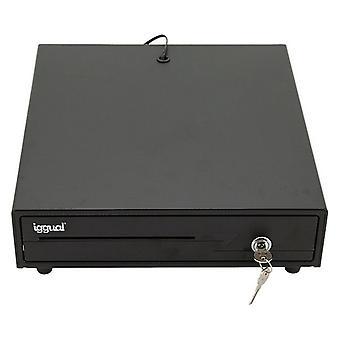 Pénztárgép fiók iggual IRON-10 Fekete