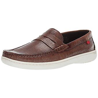 Marc Joseph New York Mens Atlantic Leather Closed Toe Penny Loafer