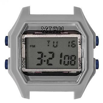 Watch I Am The Watch IAM-114 - Grey Aspect Gum Blue Buttons / Horn 20 mm Set